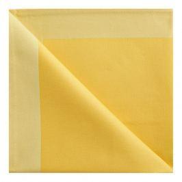GEORG JENSEN DAMASK Obrúsok yellow 50 × 50 cm