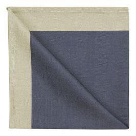 GEORG JENSEN DAMASK Obrúsok blue gold 50 × 50 cm