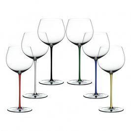 Riedel Výhodné darčekové balenie pohárov 5+1 zdarma Oaked Chardonnay Fatto a Mano