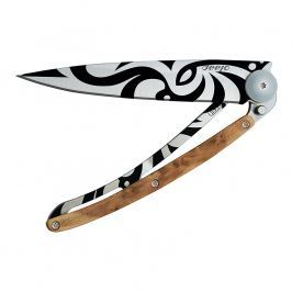 deejo Vreckový nôž tattoo 37 g juniper Tribal