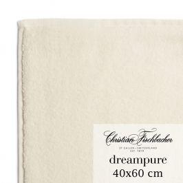 Christian Fischbacher Uterák pre hostí veľký 40 x 60 cm krémový Dreampure, Fischbacher