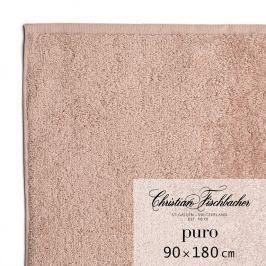 Christian Fischbacher Osuška 90 x 180 cm ružovobéžová Puro, Fischbacher