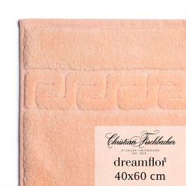Christian Fischbacher Uterák pre hostí veľký 40 x 60 cm lososový Dreamflor®, Fischbacher