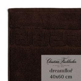 Christian Fischbacher Uterák pre hostí veľký 40 x 60 cm mokka Dreamflor®, Fischbacher