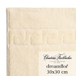 Christian Fischbacher Uterák na ruky/tvár 30 x 30 cm slonová kosť Dreamflor®, Fischbacher