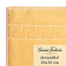 Christian Fischbacher Uterák na ruky/tvár 30 x 30 cm vanilkový Dreamflor®, Fischbacher