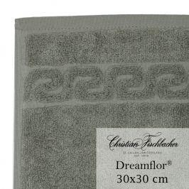 Christian Fischbacher Uterák na ruky / tvár 30 x 30 cm sivozelená Dreamflor®, Fischbacher