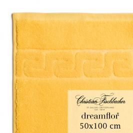 Christian Fischbacher Uterák 50 x 100 cm žltý Dreamflor®, Fischbacher
