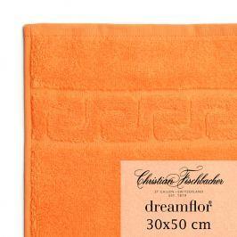 Christian Fischbacher Uterák pre hostí 30 x 50 cm oranžový Dreamflor®, Fischbacher