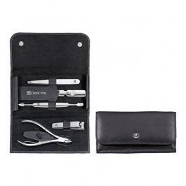 ZWILLING Manikúra 5-dielna ZWILLING® Classic Inox čierna s kliešťami na kožu