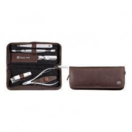 ZWILLING Manikúra 5-dielna ZWILLING® Classic Inox hnedá s kliešťami