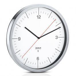 Blomus Nástenné hodiny riadené rádiovým signálom biele Ø 30,5 cm CRONO