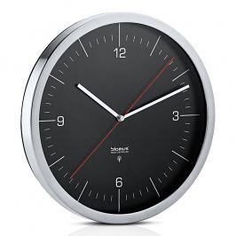 Blomus Nástenné hodiny riadené rádiovým signálom čierne Ø 30,5 cm CRONO