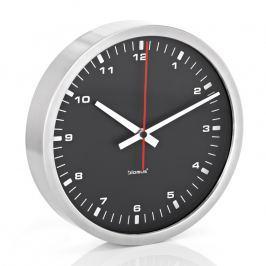 Blomus Nástenné hodiny čierne Ø 24 cm ERA