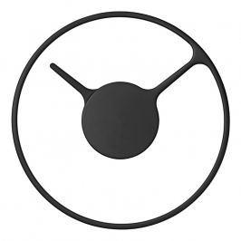 Stelton Nástenné hodiny stredné Ø 22 cm black classic