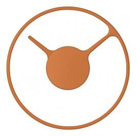 Stelton Nástenné hodiny stredné Ø 22 cm orange classic