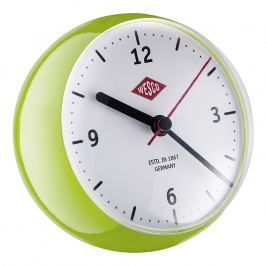 Wesco Stolné hodiny mini svetlozelené