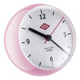 Wesco Stolné hodiny mini ružové