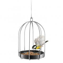 Eva Solo Závesné kŕmidlo pre vtáčiky v tvare klietky