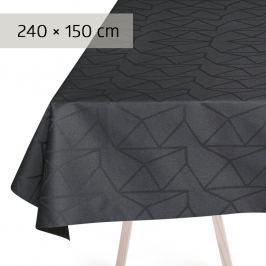 GEORG JENSEN DAMASK Obrus asphalt 240 × 150 cm ARNE JACOBSEN