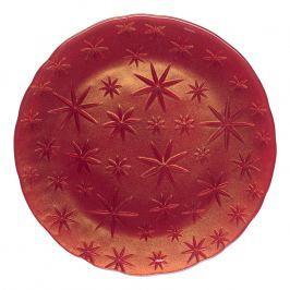 Nachtmann Servírovací/klubový tanier Stars červený