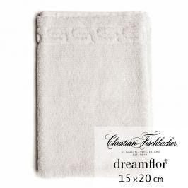 Christian Fischbacher Rukavica na umývanie 15 x 20 cm kriedovo biela Dreamflor®, Fischbacher