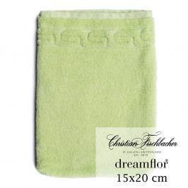 Christian Fischbacher Rukavica na umývanie 15 x 20 cm svetlozelená Dreamflor®, Fischbacher