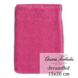 Christian Fischbacher Rukavica na umývanie 15 x 20 cm purpurová Dreamflor®, Fischbacher