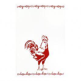 MÜkitchen Kuchynská utierka/uterák MÜincotton® red rooster