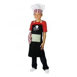 MÜkitchen Detská súprava zástera, chňapka a kuchárska čiapka MiniMÜ® chef in training