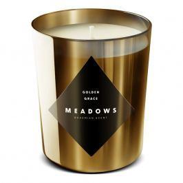 Meadows Vonná sviečka Golden Grace medium zlatá