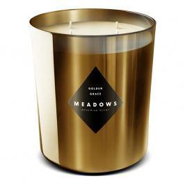 Meadows Vonná sviečka Golden Grace maxi zlatá
