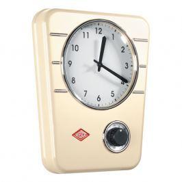 Wesco Kuchynské hodiny s minútkou mandľové