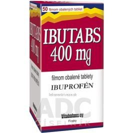 IBUTABS 400 mg tbl flm (blis.PVC/Al) 1x50 ks
