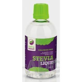 NATUSWEET STEVIA LIQUID (KVAPKY) sladidlo, tekuté 1x100 ml