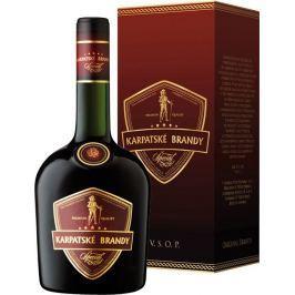 Karpatské Brandy Špeciál v kartóniku 40% 0,7l