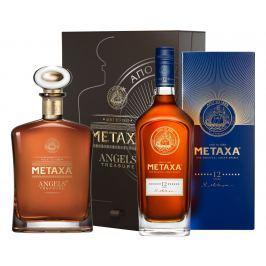 Metaxa Angels Treasure + Metaxa 12* 40,5% 1,4l