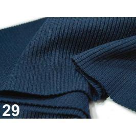 Úplety elastické polyesterové 15 x 80 cm Blue Indigo 1ks