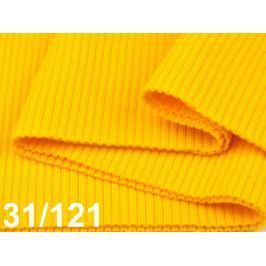 Úplety elastické polyesterové 15 x 80 cm Cyber Yellow 10ks