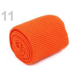 Úplety elastické polyesterové sada oranžová dyňová 1sada