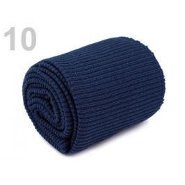 Úplety elastické polyesterové sada modrá temná 1sada
