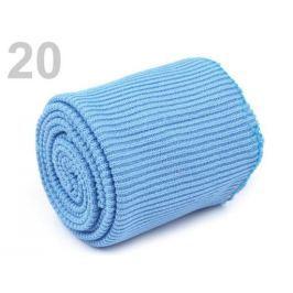 Úplety elastické polyesterové sada modrá sv. 1sada