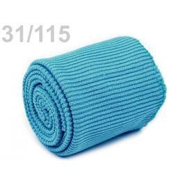 Úplety elastické polyesterové sada modrá azuro 1sada