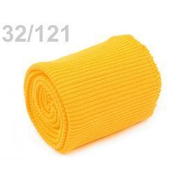 Úplety elastické polyesterové sada žltá   1sada
