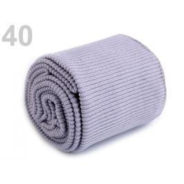 Úplety elastické polyesterové sada šedá najsv. 1sada