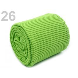Úplety elastické polyesterové sada zelená sv. 10sada