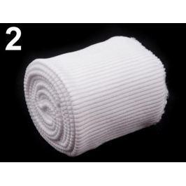 Úplety elastické polyesterové sada biela 30sada