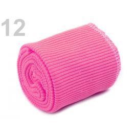 Úplety elastické polyesterové sada ružová 30sada