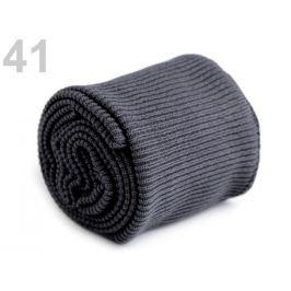 Úplety elastické polyesterové sada šedá 30sada
