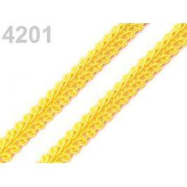 Prámik šírka 10 mm Cyber Yellow 25m